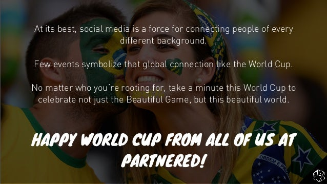 At its best, social media is a force for connecting people of every different background. Few events symbolize that global...