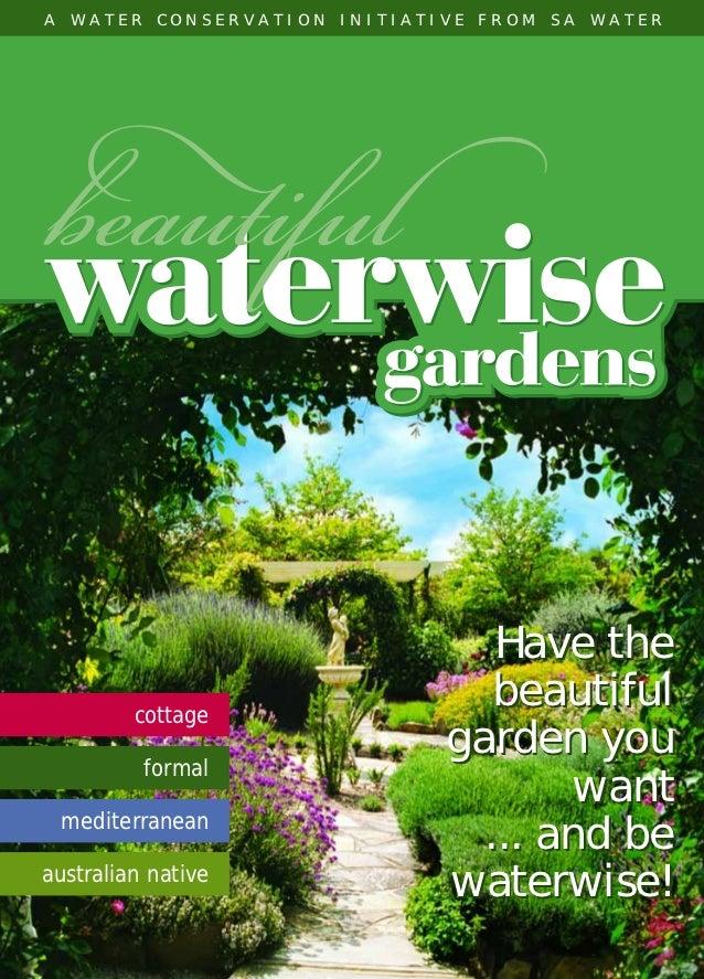 SAW14060 NGIA Waterwise Book   8/10/04   11:19 AM   Page 1      A   W A T E R      C O N S E R V A T I O N             I N...