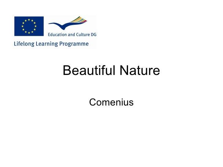Beautiful Nature    Comenius