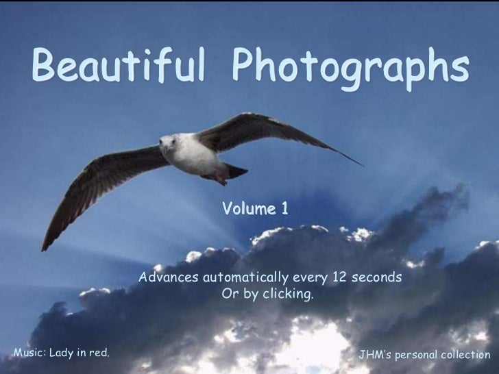 Beautifulphotographs vol 1