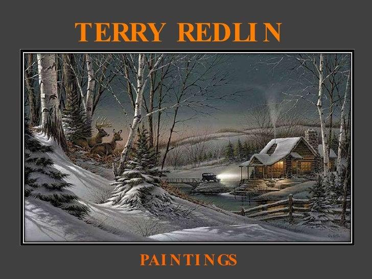 TERRY REDLIN PAINTINGS