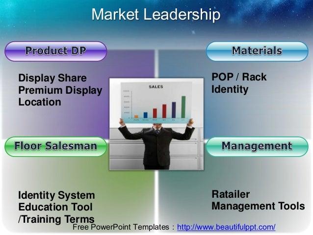 Market LeadershipDisplay Share                                 POP / RackPremium Display                               Ide...