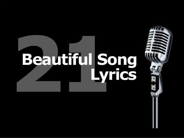 Beautiful Song Lyrics
