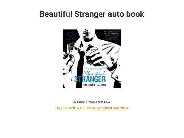 Beautiful Stranger Book