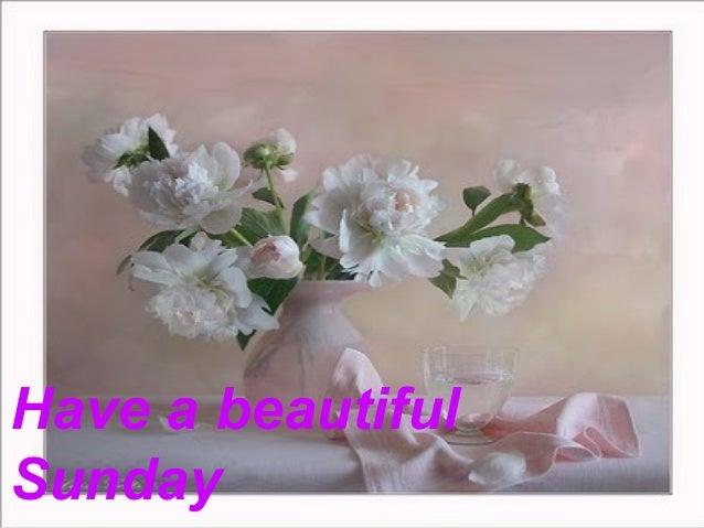 Have a beautifulSunday