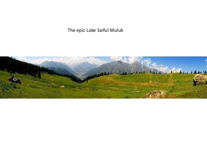 The epic Lake SaifulMuluk<br />