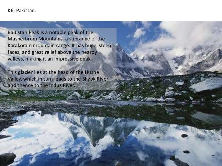 K6, Pakistan. <br />Baltistan Peak is a notable peak of the Masherbrum Mountains, a subrange of the Karakoram mountain ran...