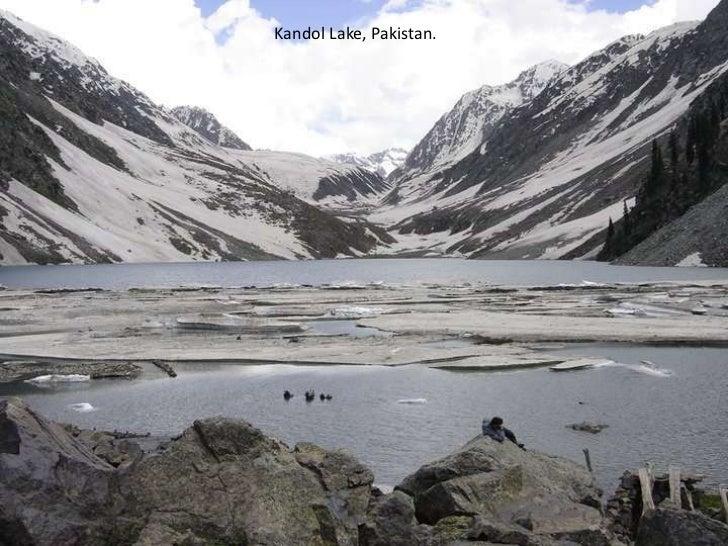 Kandol Lake, Pakistan.<br />