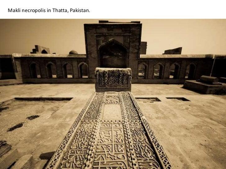 Makli necropolis in Thatta, Pakistan.<br />