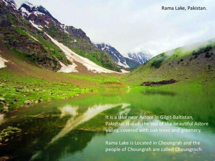 Rama Lake, Pakistan. <br />It is a lake near Astore in Gilgit-Baltistan, Pakistan. It is on the top of the beautiful Astor...