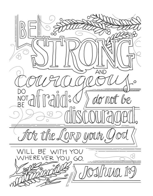 FREE Beautiful Word COLORING PAGES