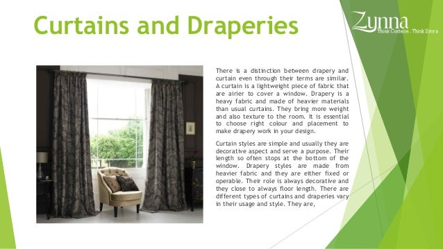 Types of curtains and draperies contemporary curtains for Types of drapes and curtains