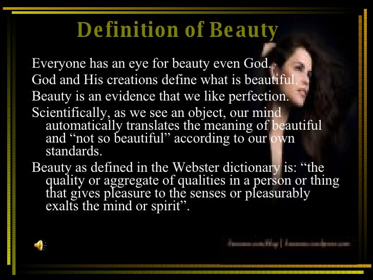 definitions of beauty