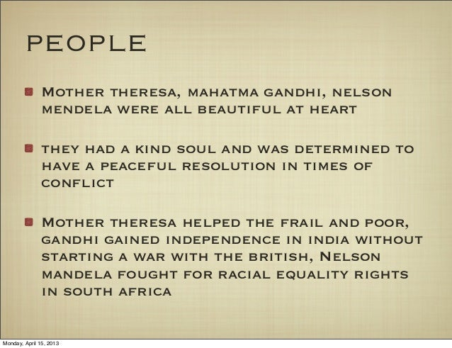 english essay beauty  4 people mother theresa