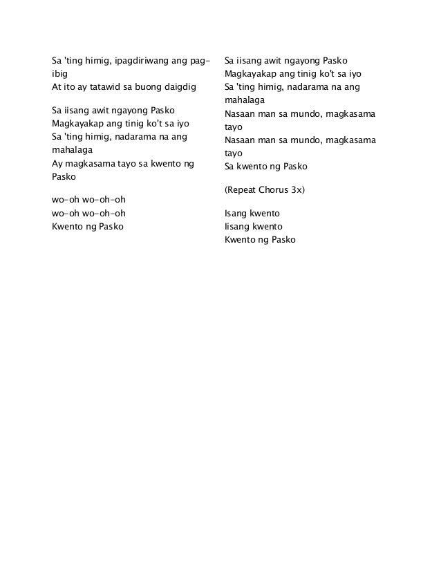 Basta Tayo Magkasama Lyrics results « VideokeMan