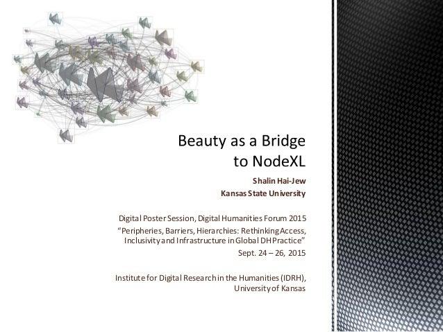"Shalin Hai-Jew Kansas State University Digital Poster Session,Digital Humanities Forum2015 ""Peripheries,Barriers,Hierarchi..."