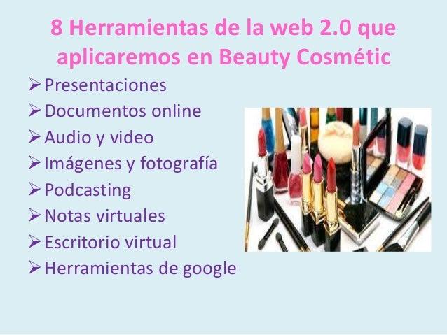 Beauty cosmétic Slide 2
