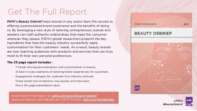 - 7 trends driving personalization and customization in beauty - 21 best-in-class examples of tailoring brand experiences ...