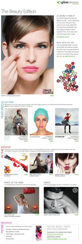 Beauty newsletter