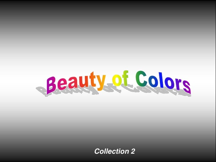 Beauty of Colors<br />Collection 2<br />