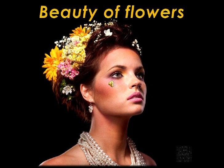 Beauty of flowers<br />