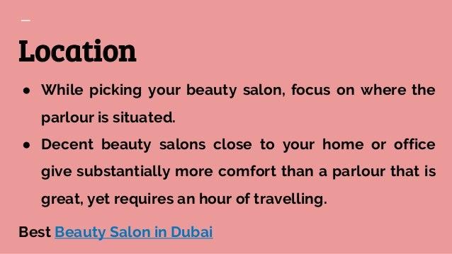 Beauty Parlour in Dubai - Miracle Lounge Salon