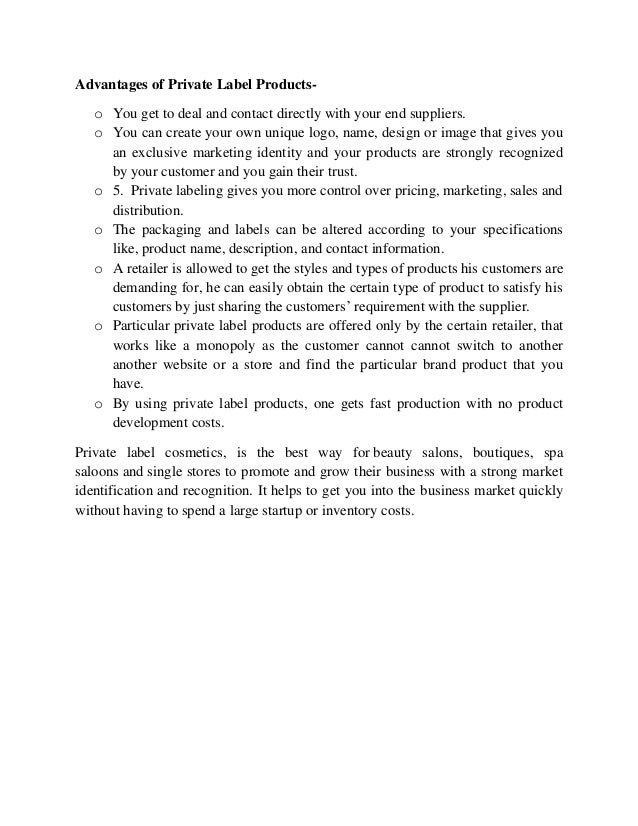 Beauty products contract manufacturer Slide 3