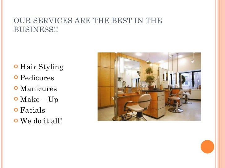 Introduction to beauty salon for Beauty salon introduction