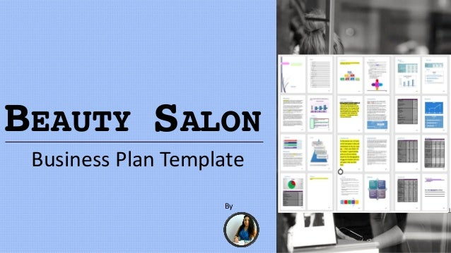 Beauty salon business plan template for A salon business plan