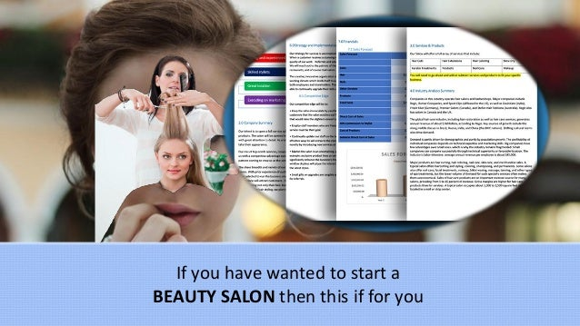 Beauty salon business plan template for A business plan for a beauty salon