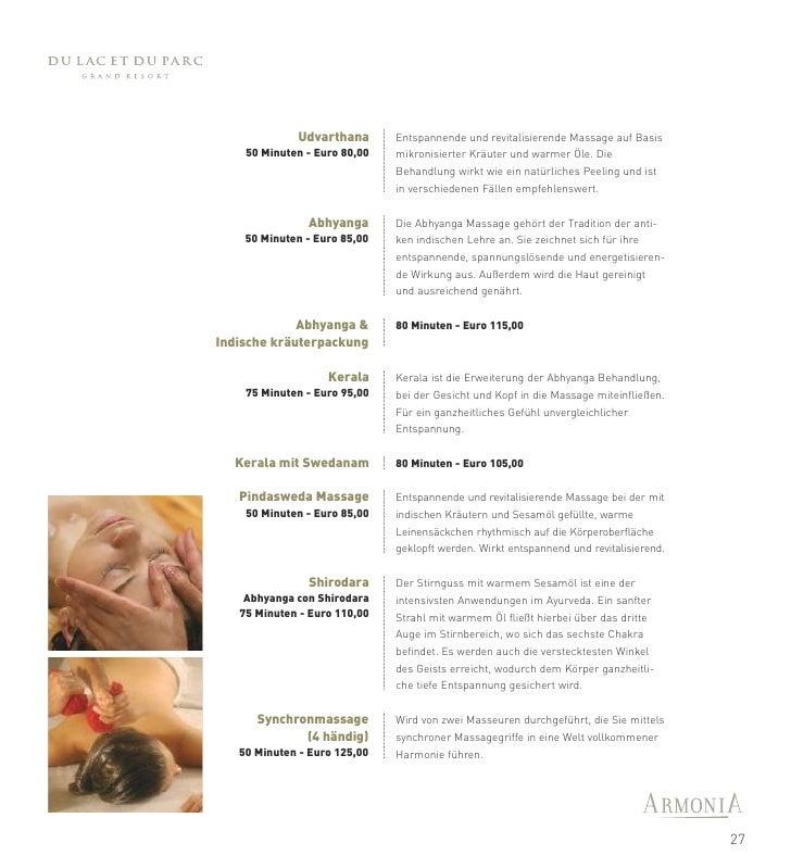 Paarbehandlungen                  Wellnessprogramm:          Tief durchatmen, eine Welt grenzenloser Entspannung     SOIN ...