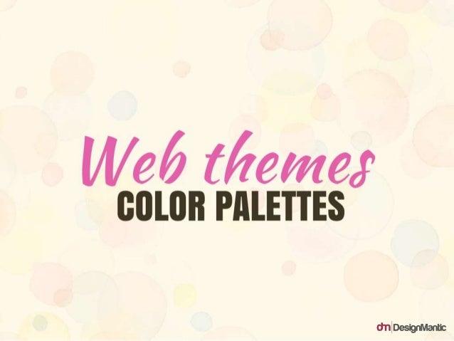 Web Themes Color Palettes