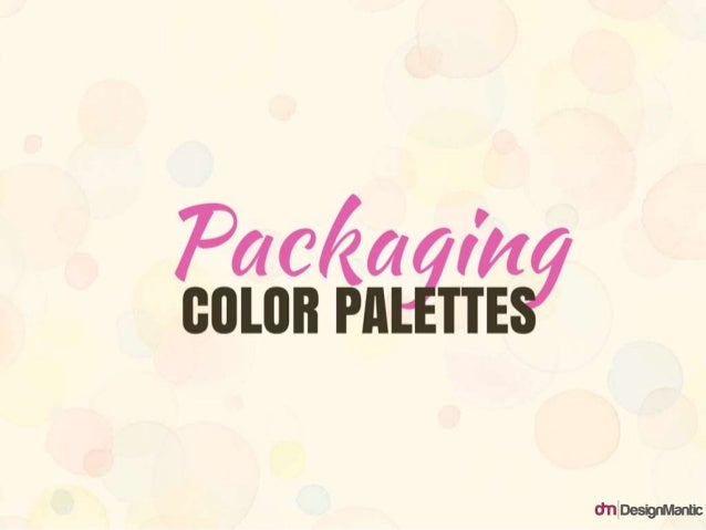 Packaging Color Palettes