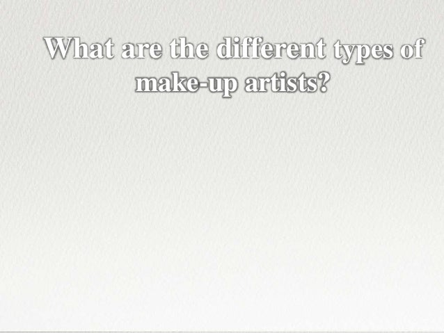Beauty Therapy Courses - 5 Career Choices for Make-up Artists Slide 2