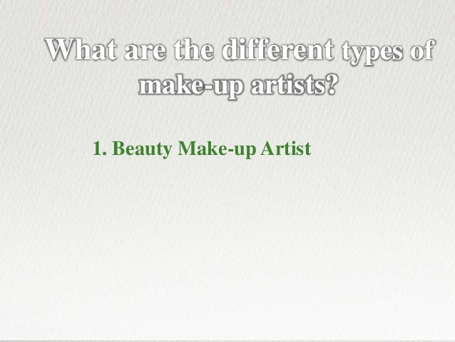 Beauty Therapy Courses - 5 Career Choices for Make-up Artists Slide 3
