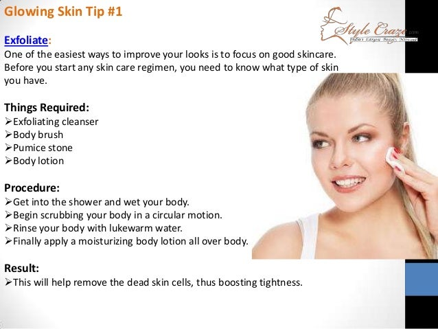 Natural Beauty Tips For Glowing: Beauty Tips For Glowing Skin