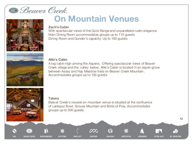 Beaver creek resort group sales for Allie s cabin beaver creek