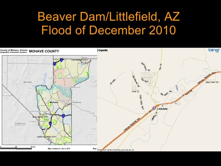 Beaver Dam/Littlefield, AZ Flood of December 2010