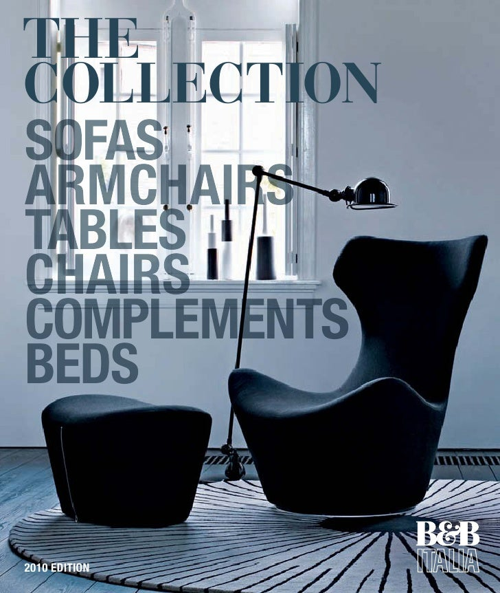 the collection sofas armchairs tables chairs complements beds   2010 EDITION