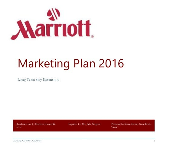 marriott marketing plans