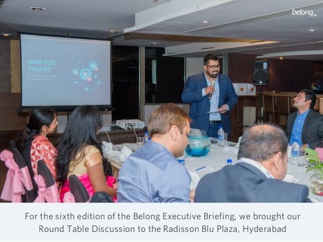 Belong Executive Briefing Hyderabad: November 14, 2017