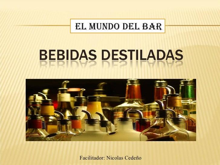 EL MUNDO DEL BAR Facilitador: Nicolas Cedeño