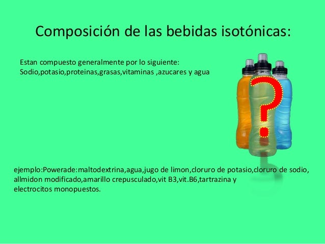 Isotonicas