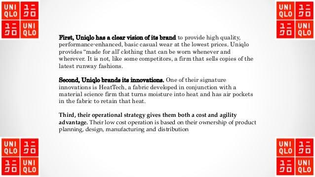 uniqlo product line