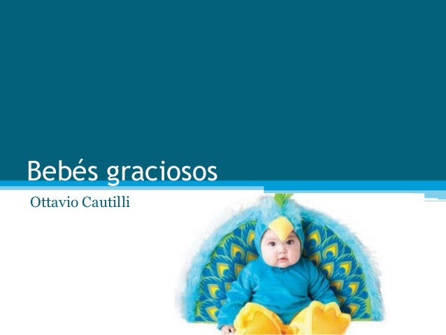 Bebés graciosos  Ottavio Cautilli