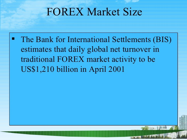 Forex trading daily turnover
