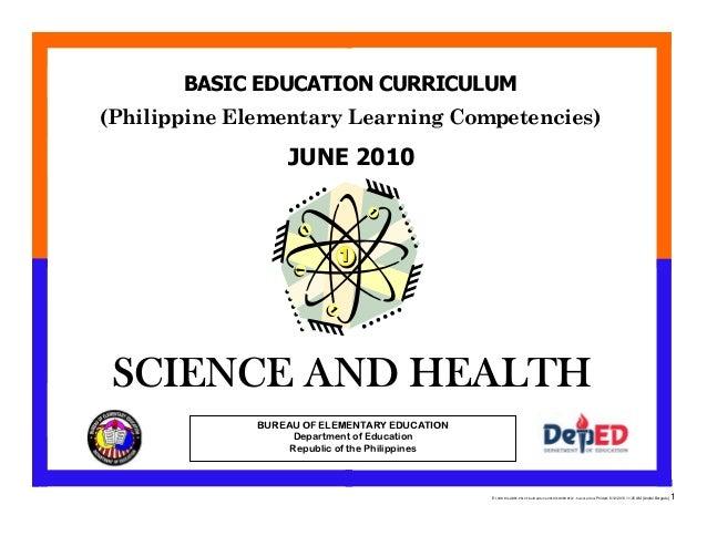 E:CDD FilesBEC-PELC Finalized June 2010COVER PELC - Science.docx Printed: 8/12/2010 11:25 AM [Anafel Bergado] 1 (Philippin...