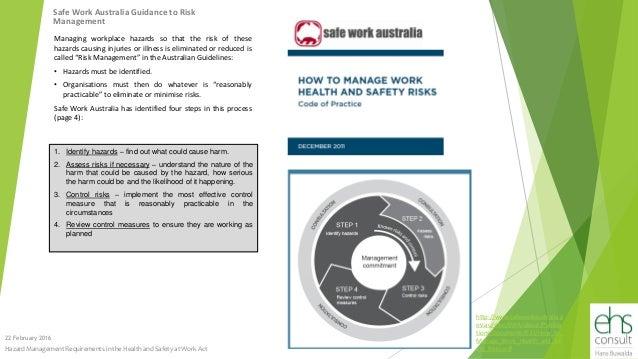 safe work australia guidelines for health surveillance
