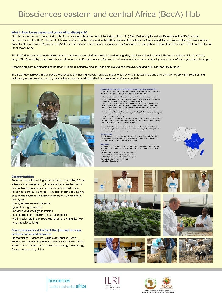 Biosciences eastern and central Africa (BecA) Hub