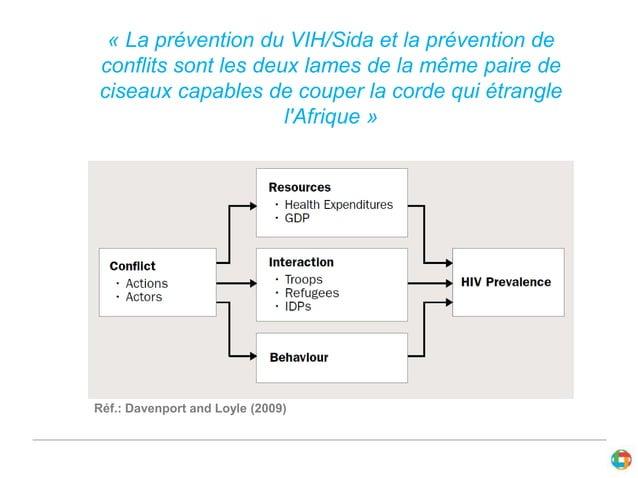 « La prévention du VIH/Sida et la prévention de  conflits sont les deux lames de la même paire de  ciseaux capables de cou...